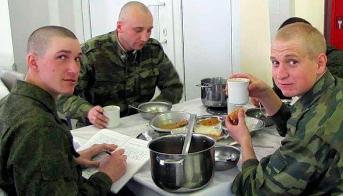 Первый день в армии