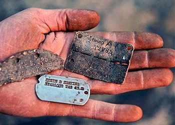 Армейский жетон второй мировой войны