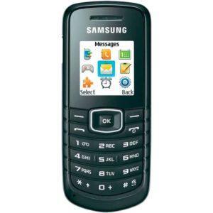 Список разрешенных телефонов в армии - Samsung E1080i