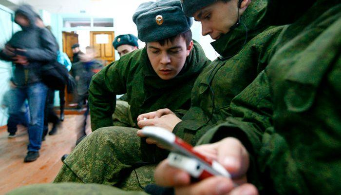 Закон о запрете военнослужащим смартфонов