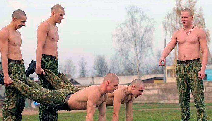 Как набрать вес в армии