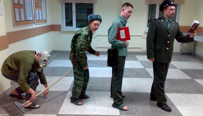 Неуставные звания в армии - кто такой слон, дух, дед и тд