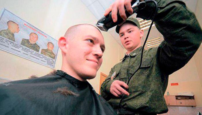 Армейская стрижка - как стригут в армии