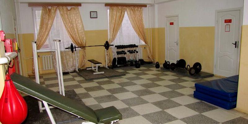 Внутренний порядок, размещение и быт военнослужащих - спортзал