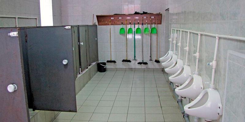 Внутренний порядок, размещение и быт военнослужащих-туалет