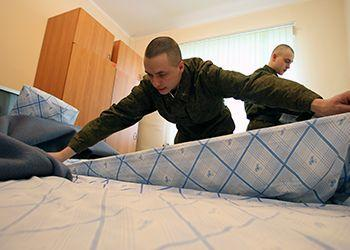 Заправка кровати в армии по схеме - фото