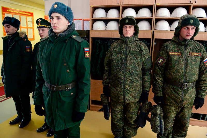 Офисная форма одежды для военнослужащих - Зимняя форма контрактников