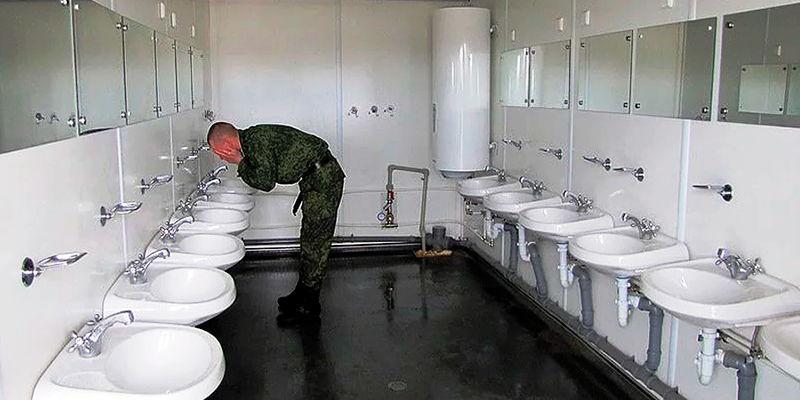Размещение и быт военнослужащих в 2020 году